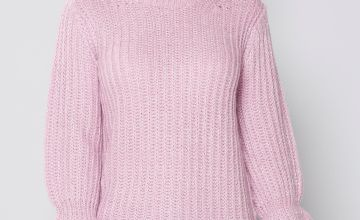 Fishermans Jumper with Metallic Thread