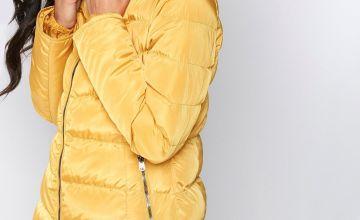 Tokyo Laundry Adley Faux Fur Trim Hooded Coat