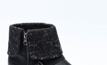 Rocket Dog Bentley Knit Top Ankle Boots