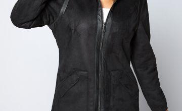 Bellfield Bonded Long Hooded Coat