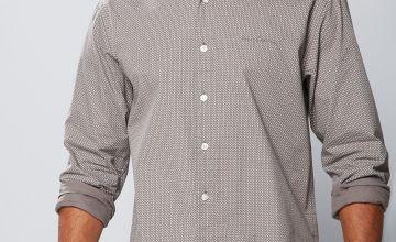 Pierre Cardin all over Print Long Sleeve Shirt