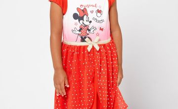 Girls Minnie Mouse Nighty with Headband