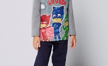 Younger Boys PJ Masks Christmas is Saved Set
