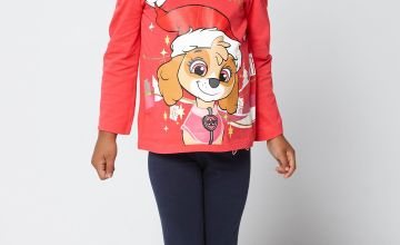 Paw Patrol Merry Christmas Top and Leggings Set