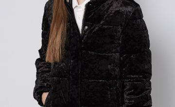Older Girls Velour Jacket