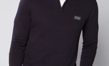 Harper and Leyland ¼ Zip Knit Jumper