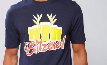 Blitzened Christmas T-Shirt