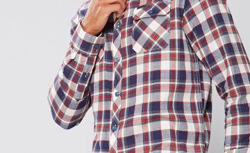 Firetrap Long Sleeve Check Shirt