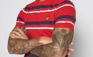 Lyle and Scott Stripe T-Shirt