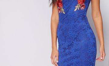 Applique Lace Dress