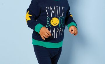 Baby Boys 2-Piece Happy Sweater and Jogger Set