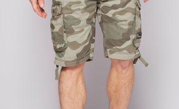 Crosshatch Jimster Cargo Shorts