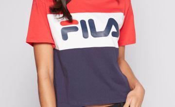 Fila Colour Block Logo T-Shirt