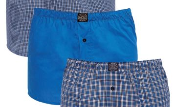 Smith and Jones 3 Pack Woven Boxers