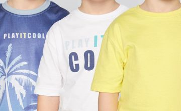 Young Boys Pack of 3 T-Shirts