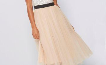 Rare London Tutu Midi Dress