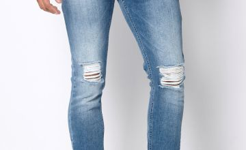 DFND Damian Skinny Knee Ripped Jeans