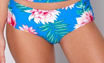 Floral Frenzy Short Bikini Bottoms
