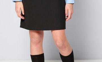 Older Girls Woven Pencil Skirt with Belt