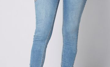 Embellished Ankle Grazer Jeans