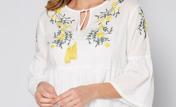 Embellished Smock Top