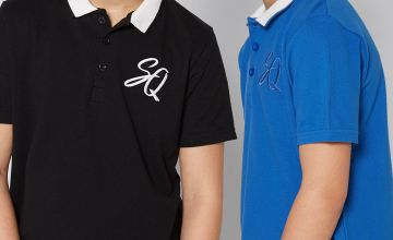 Older Boys Pack of 2 Polo Tops