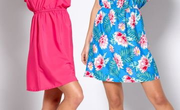 Pack of 2 Floral Frenzy Bandeau Dresses