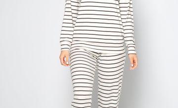 Printed Stripe Long Sleeve Twosie