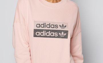adidas Pink Sweatshirt
