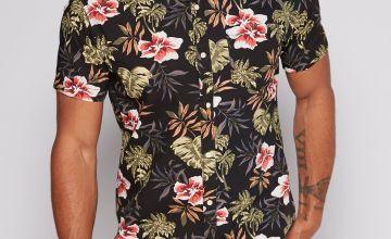 Jack and Jones Floral Short Sleeve Shirt