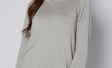 2-in-1 Grey Jumper