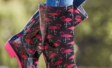 Printed Tall Wellies