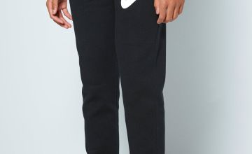 Boys Nike Black/White Joggers