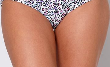 Wild Leopard Short Bikini Bottoms