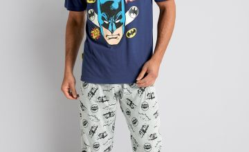 Batman Cuffed Pant and T-Shirt Pyjama Set