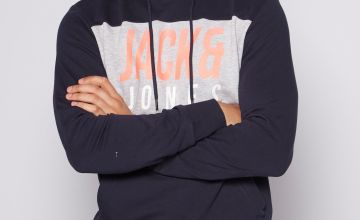 Jack and Jones Large Logo Hoody