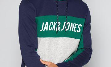 Jack and Jones Colour Block Hoody