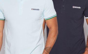 Lambretta Pack of 2 Polo Shirts