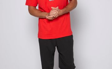 West Peak T-Shirt and Jersey Trouser Pyjama Set