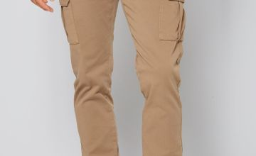 Chino Cargo Trousers