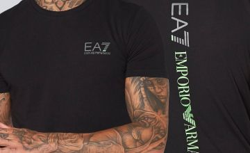 EA7 Back Logo T-Shirt