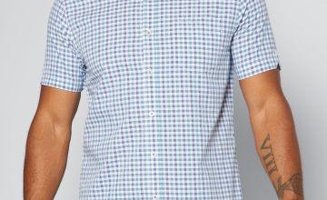 Ben Sherman Classic Blue Check Shirt