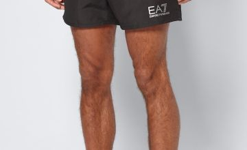 Emporio Armani Brand Carrier Swim Shorts