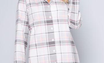 Check Flannel Nightshirt