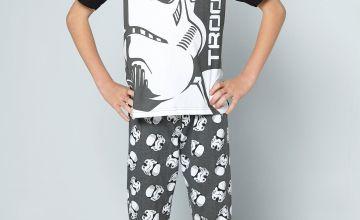 Older Boys Star Wars Storm Trooper Pyjamas