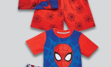 Older Boys Pack of 2 Spider-Man Shortie Sets