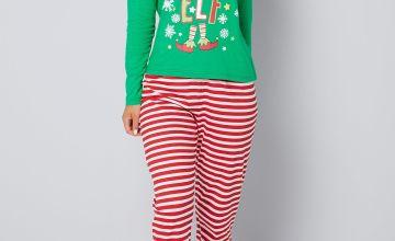 Mummy Elf Pyjamas