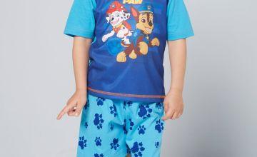 Young Boys Paw Patrol Team Paw Shortie Pyjamas