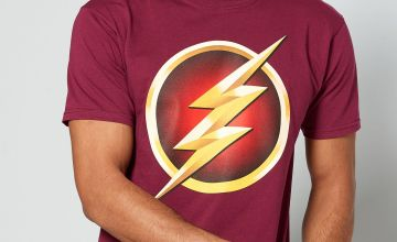 The Flash Burgundy T-Shirt