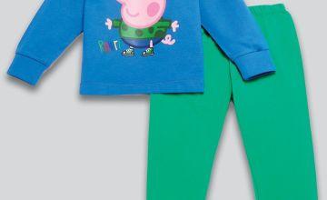 Young Boys George Pig Dinos Rule Pyjamas